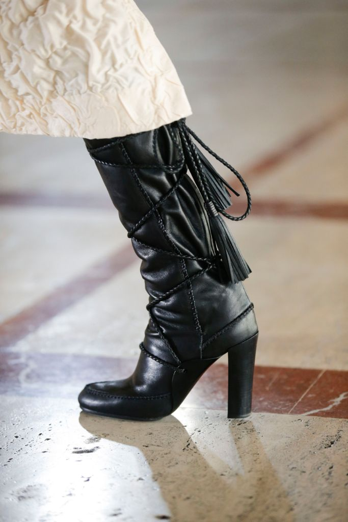 ulla johnson, nyfw, fall 2021, new york fashion week, nyfw trends, fall 2021 trends, fashion trends, fashion, shoes, boots