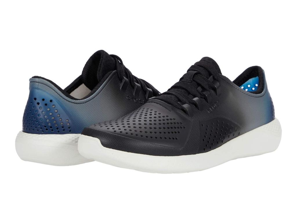 Crocs Men's LiteRide Color Dip Pacer, crocs with shoelaces