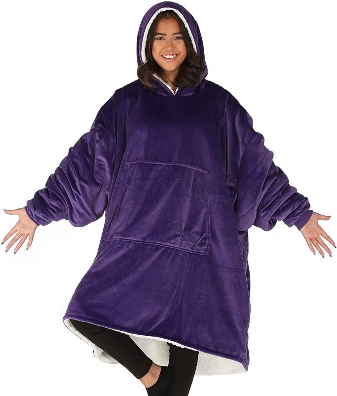 The Comfy Original Wearable Blanket, wearable blanket