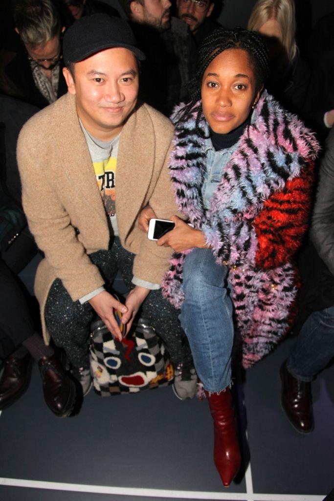 tamu mcpherson, tommy ton, street style, fashion week