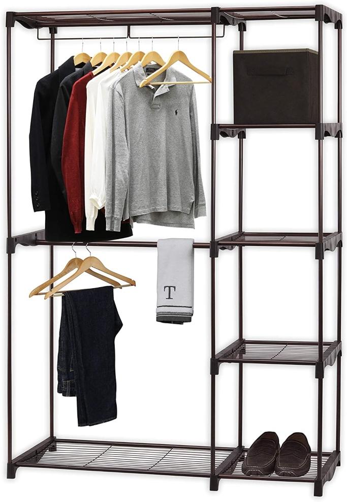 Simple Houseware Freestanding Clothing Rack, best clothing racks