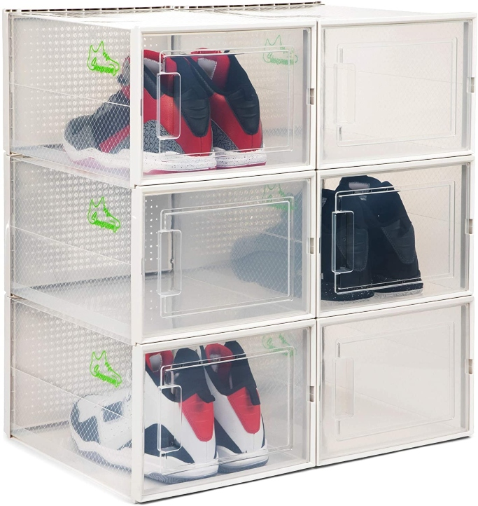 Shoepreem Stackable Shoe Storage Box