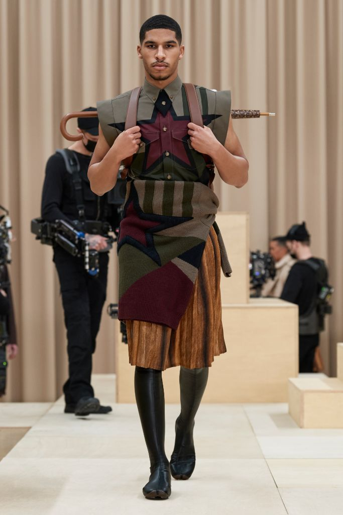 burberry, burberry men's, men's fall 2021, london fashion week, riccardo tisci