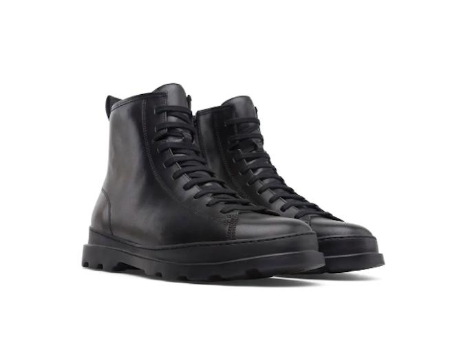 Combat boots, black, camper, Nordstrom, winter sale
