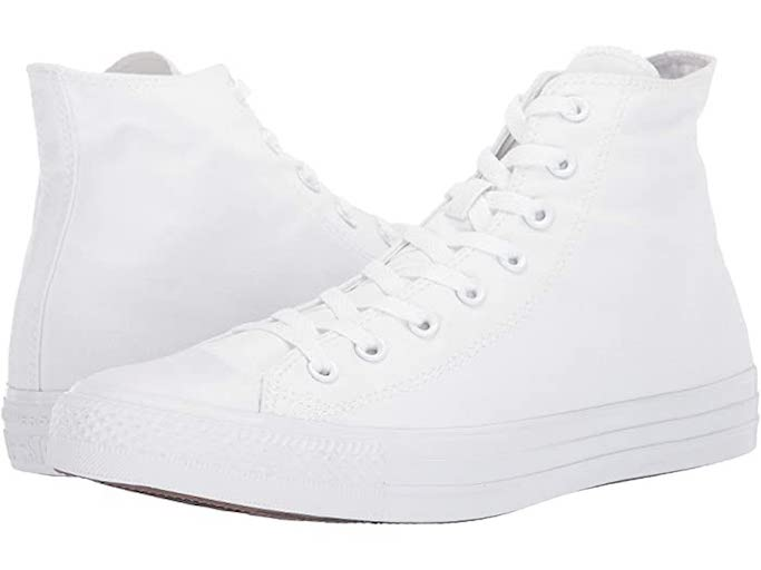 Converse Chuck Taylor Monochrome White Hi Top