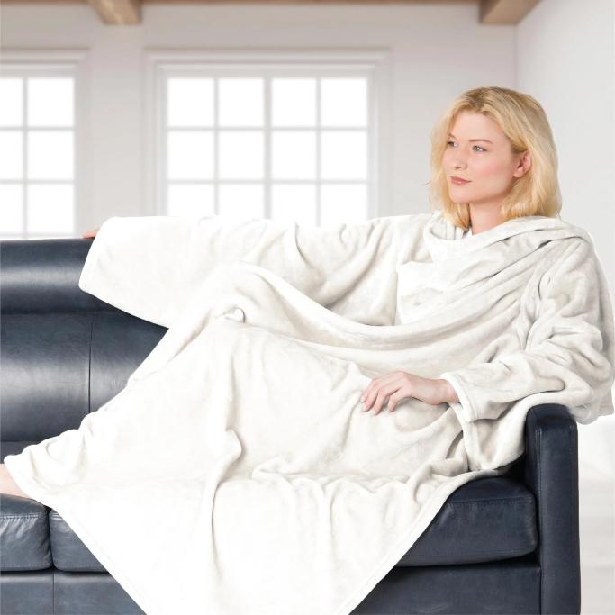 Brookstone Nap Wearable Throw, wearable blankets