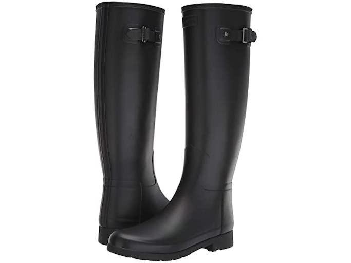 hunter boots, hunter rain boots, tall black rain boots, black rain boots