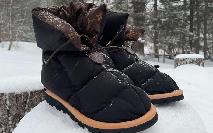 louis vuitton, louis vuitton pillow boots, pillow boots, slippers, louis vuitton slippers