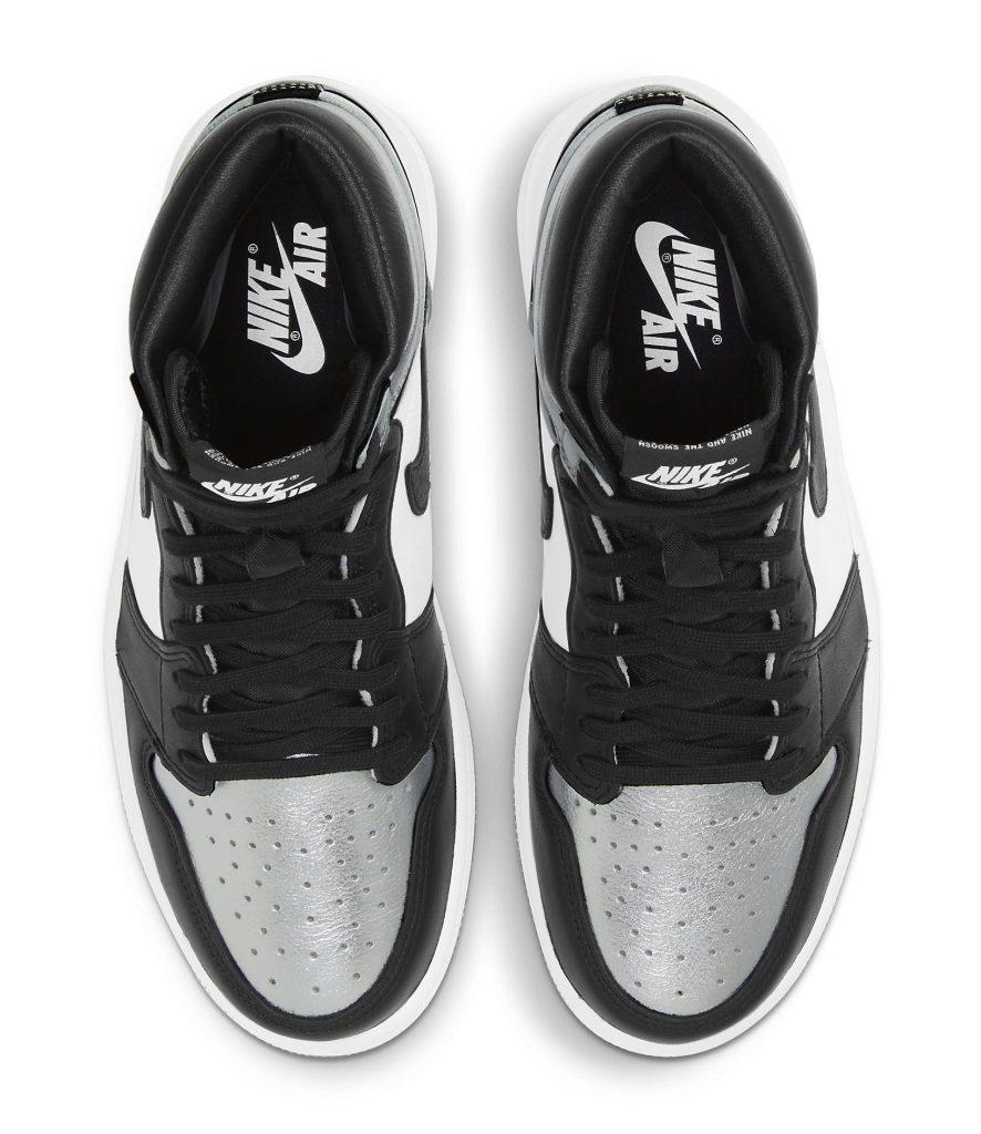 Air Jordan 1 Retro High OG Women's 'Silver Toe'