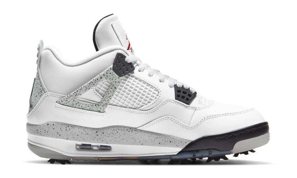 Air Jordan 4 Retro Golf 'White/Cement'