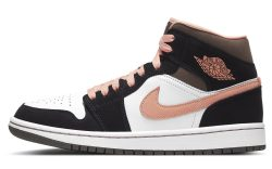 Air Jordan 1 Mid Women's 'Peach