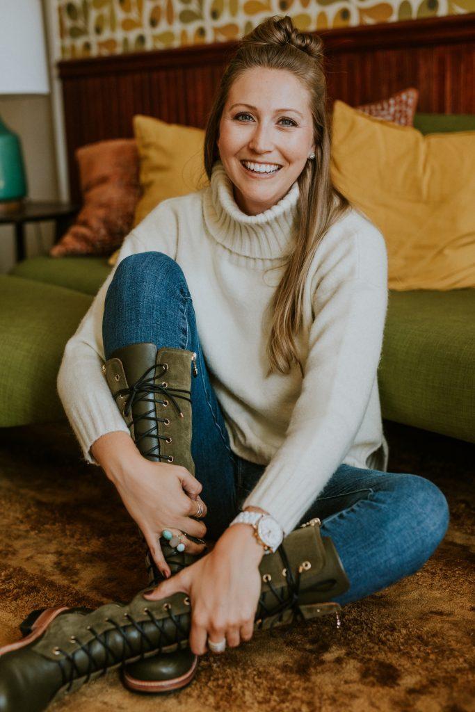 Jaclyn Jones, founder of Californians Footwear