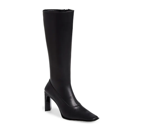 Jeffrey Campbell, knee high black boots