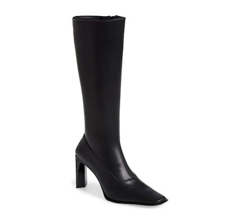 Jeffrey Campbell, knee high black boots