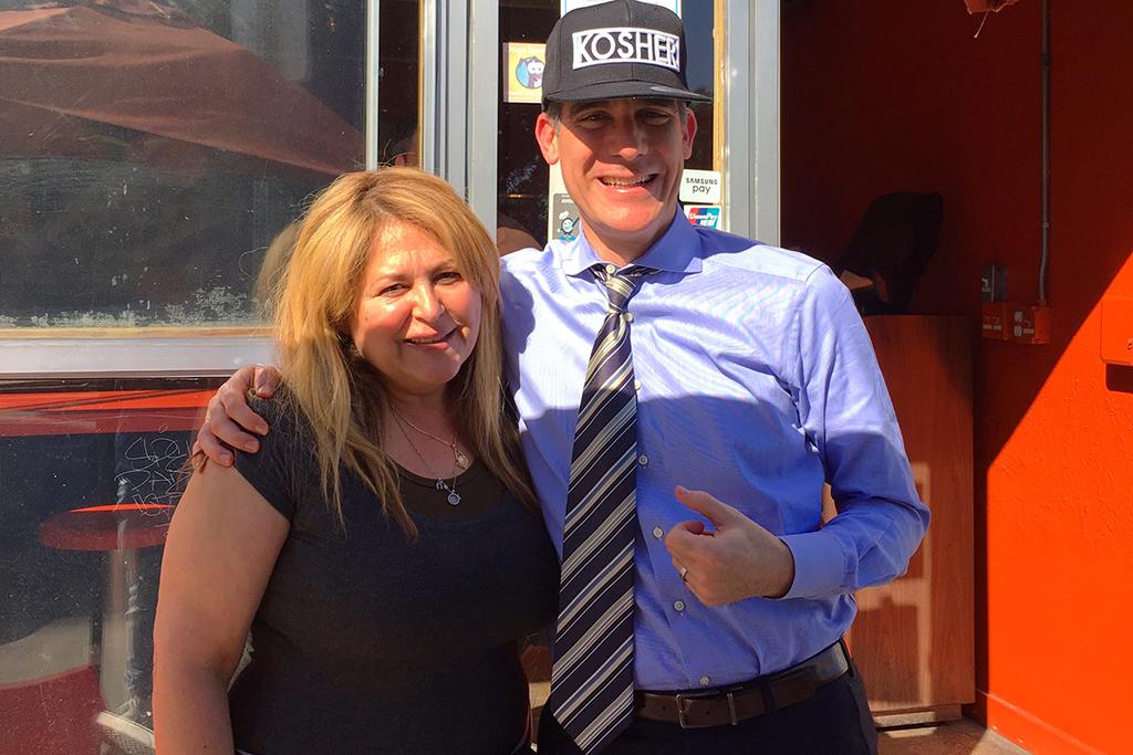 Kosher, LA Mayor Garcetti