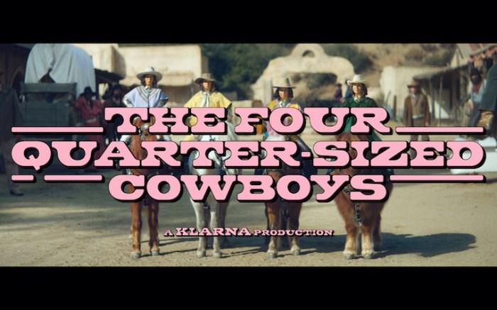 Advertising still from the Klarna Super Bowl Campaign starring Maya Rudolph