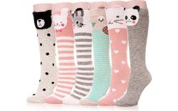 knee high socks, girl socks