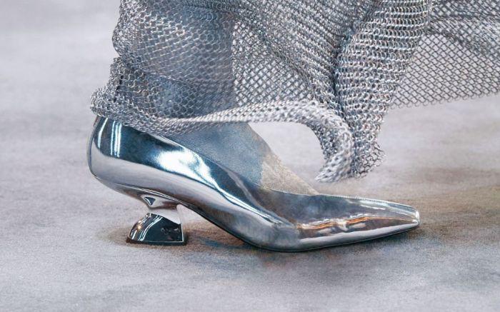 salvatore ferragamo, ferragamo, fall 2021, mfw, milan fashion week, paul andrew, shoes, trends, fashion, square toe heels