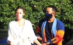 Chrissy Teigen and John Legend in
