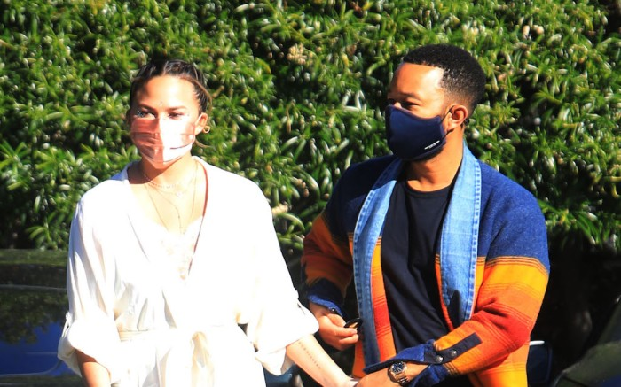 Chrissy Teigen and John Legend out  in Beverly Hills