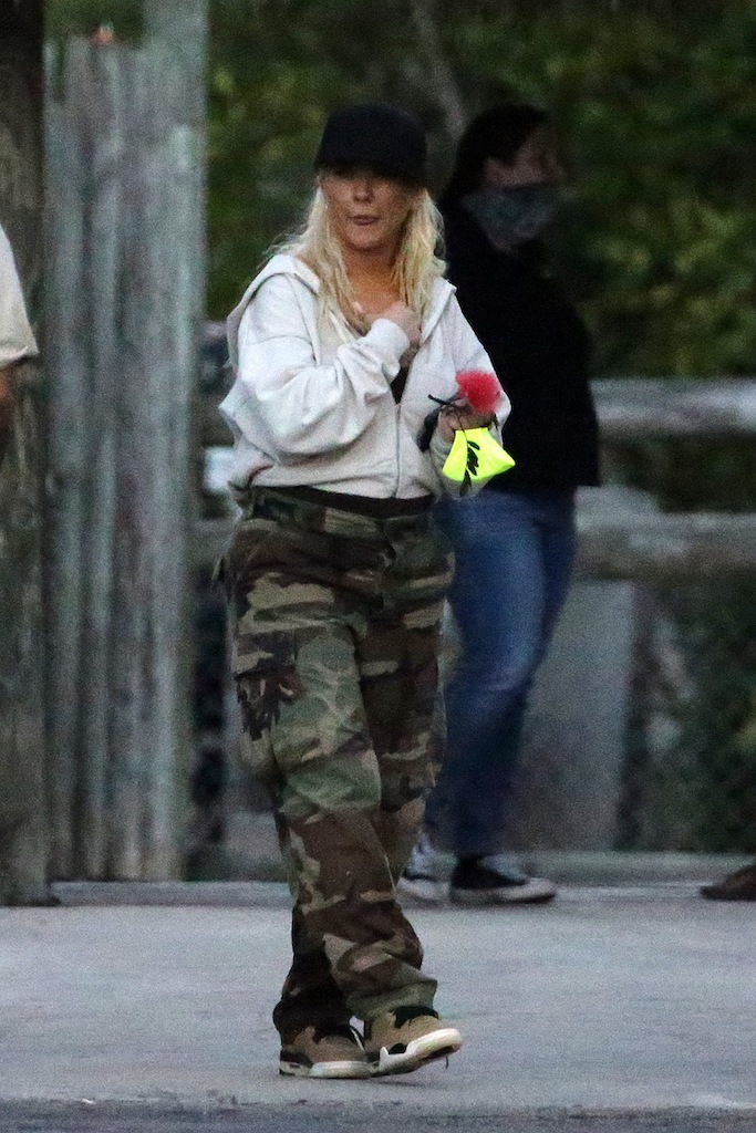 EXCLUSIVE: Christina Aguilera and fiancé Matthew Rutler wear matching camouflage as they take daughter Summer to the Everglades Alligator Farm in Florida. The pop star was seen hand feeding an Emu, getting up close and personal with some parrots and tortoises, and even throwing raw meat to waiting gators. 13 Feb 2021 Pictured: Christina Aguilera; Matthew Rutler; Summer Rutler. Photo credit: MEGA TheMegaAgency.com +1 888 505 6342 (Mega Agency TagID: MEGA733332_009.jpg) [Photo via Mega Agency]