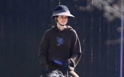 Kendall Jenner horseback riding