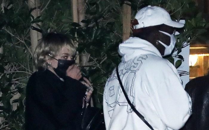 Miley Cyrus and rapper Lil Nas X grab dinner together at Nobu Malibu