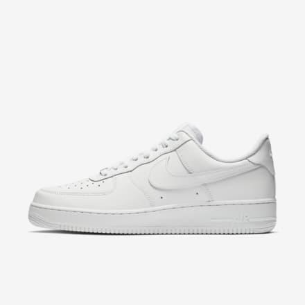 Nike Air Force 1 sneakers, white sneakers