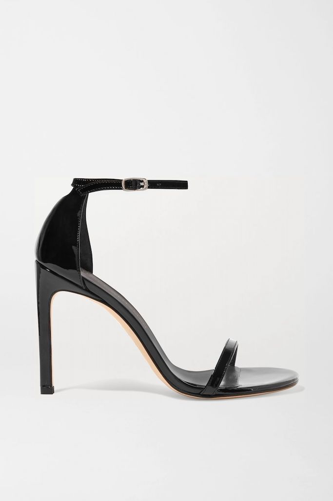 Stuart Weitzman Nudistsong Sandals in black