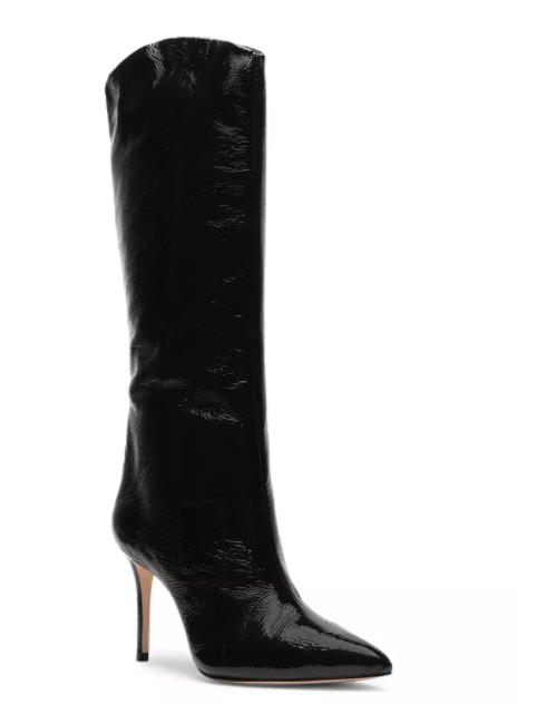 Schutz, knee high black boots