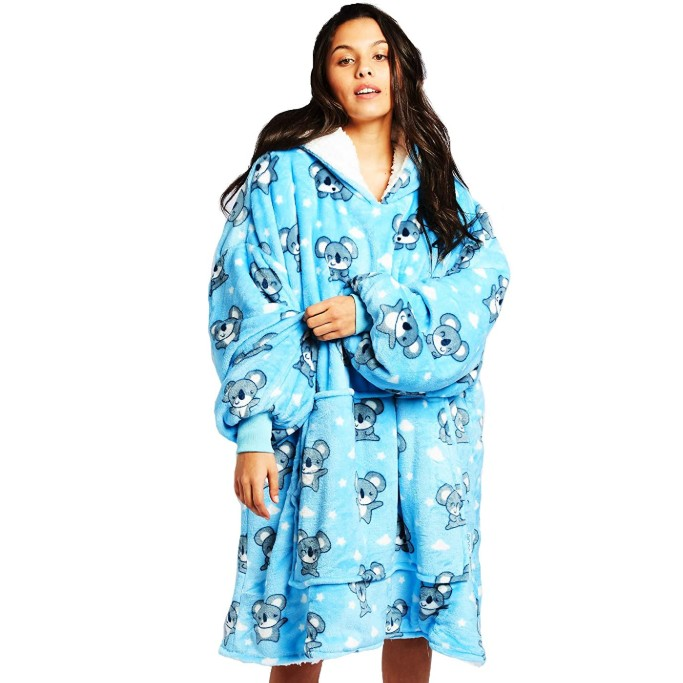 wearable blanket, The Oodie Wearable Sherpa Blanket