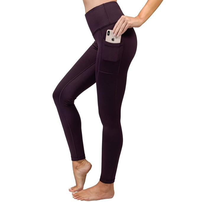 90 Degree By Reflex High Waist Fleece Lined Leggings
