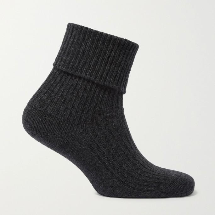 Johnstons of Elgin cashmere socks, cashmere socks