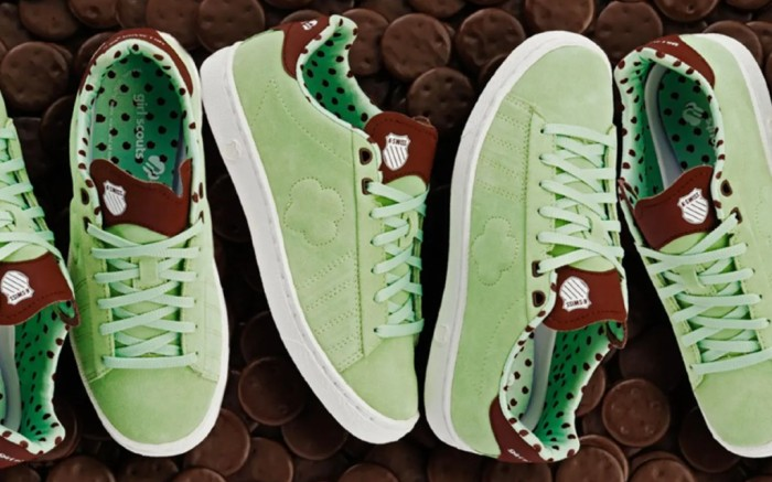 Girl Scout x K-Swiss Court 66 collection