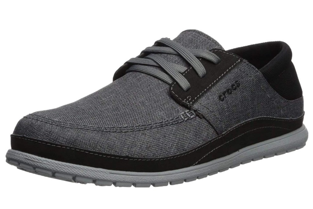 crocs with shoelaces, Crocs Men's Santa Cruz Playa Lace-Up Sneaker