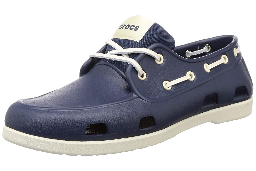 Crocs Men's Classic Boat Shoes, crocs with shoelaces