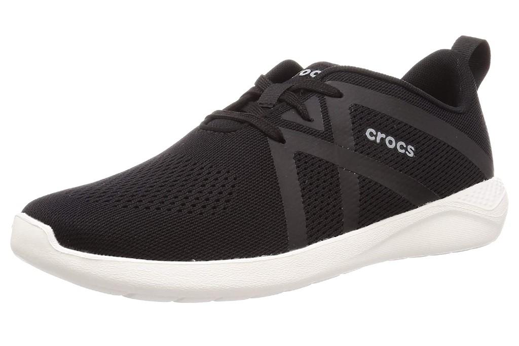 Crocs Men's LiteRide Modform Lace-Up Sneaker, crocs with shoelaces