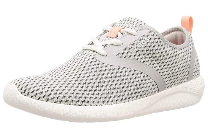 crocs literide mesh, crocs with shoelaces