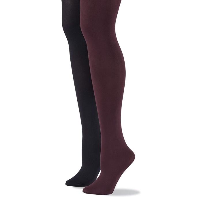 No Nonsense Opaque Control-Top Tights, opaque tights