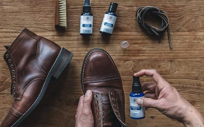 travel shoe care kit