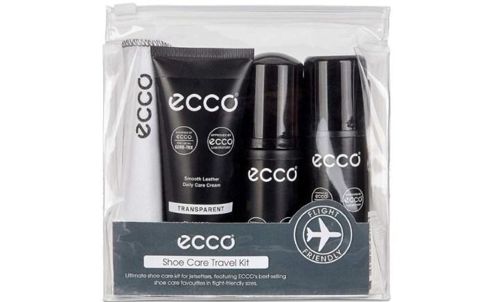 ECCO Unisex Shoe Care Travel Kit, shoe care travel kit