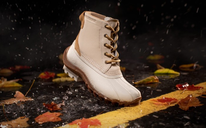 Womens Outdoor Torrent Duck Boot from Wolverine in Ivory