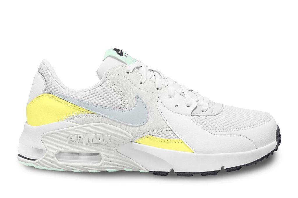 nike air max, yellow, white, dsw