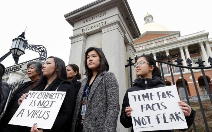 protestors, anti-asian, racism