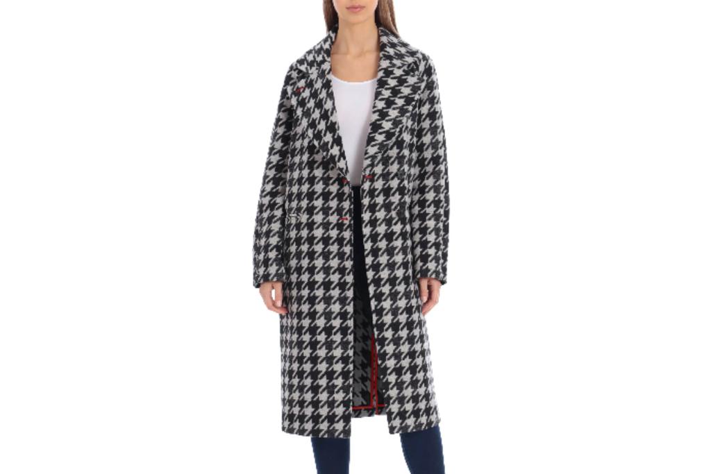houndstooth coat, avec les filles