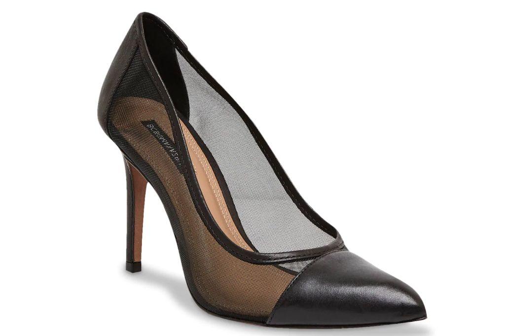 bcbgmaxazria, juliet pump, mesh heels