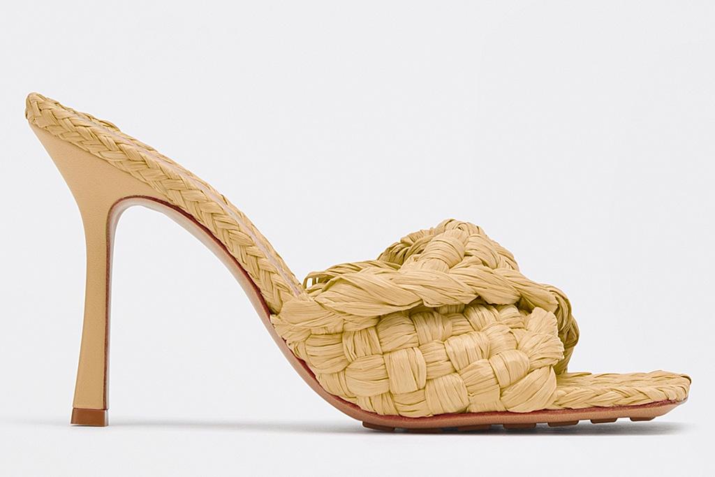 bottega veneta, sandals, stretch