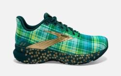 brooks, run lucky shoe, st patrick's