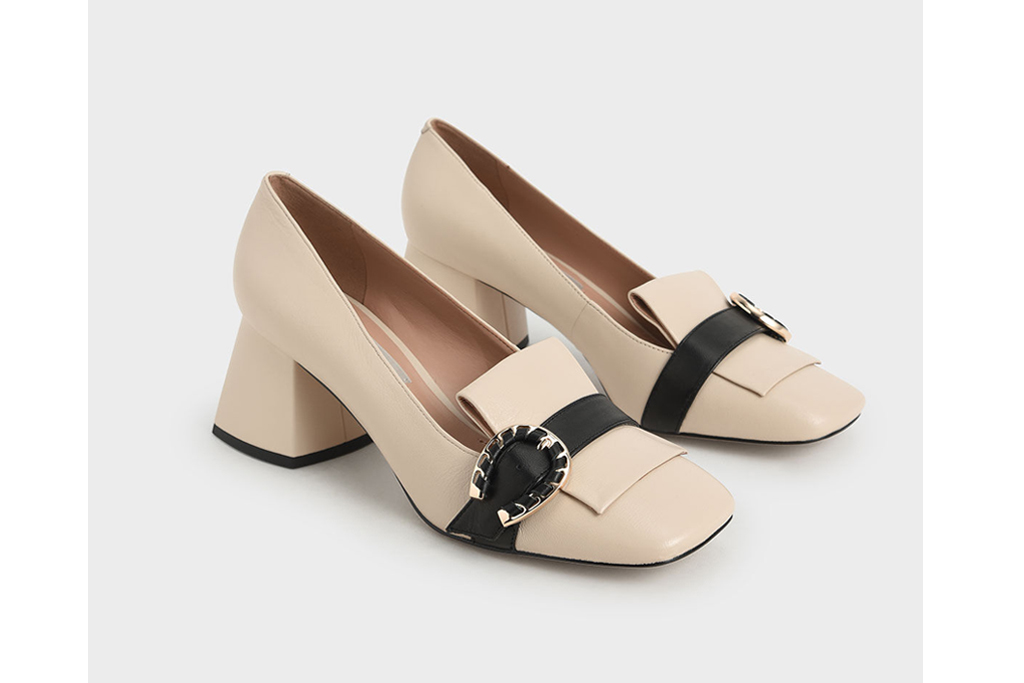 charles and keith loafer, affordable shoes, cheap shoes