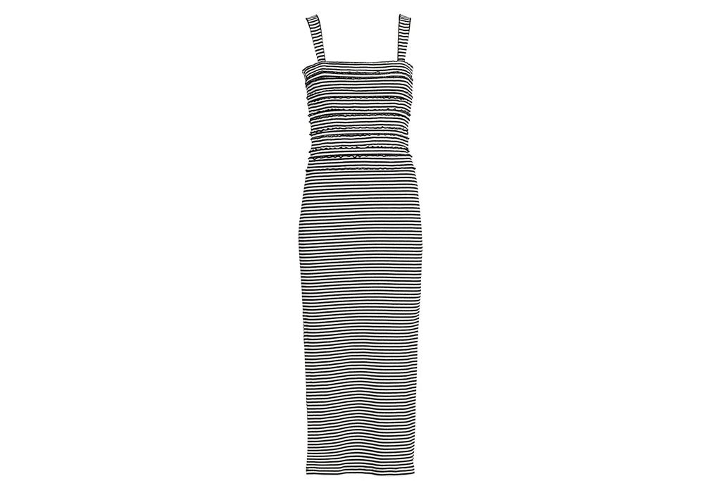 striped dress, tank, derek lam